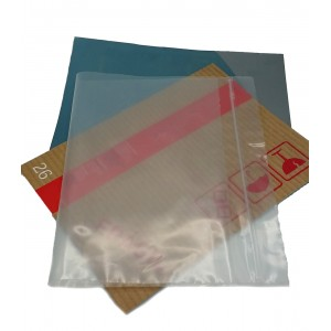Bolsas De Plástico ZIP Con Autocierre 120mm X 180mm, Galga 200