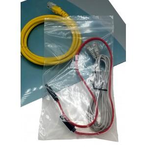 Bolsas De Plástico ZIP Con Autocierre 160mm X 220mm, Galga 200