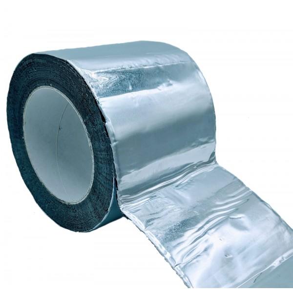 Cinta Adhesiva De Butilo Con Aluminio, Color Plata