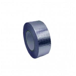 Fita Adesiva De Alumínio Reforçado com Fibra de Vidro - Rolo de 50m x 50mm