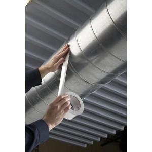 Ruban Adhésif Aluminium 50 Microns – Rouleau de 50m x 25mm