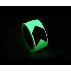 Fita Adesiva Fotoluminescente Desenho Setas