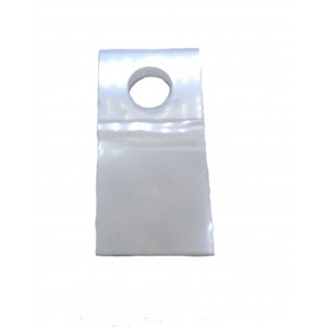 3M™ Perchas Adhesivas Redondas Pequeñas 1074, HANG TABS, Transparente 25mm X 50mm