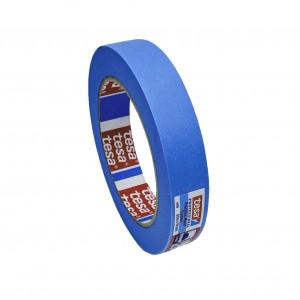 TESA® Ruban de Masquage Papier Premium 4439 Bleu –Rouleau de 50m x 25mm