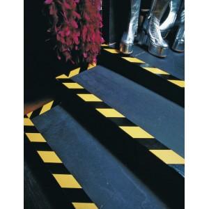 TESA® Ruban de Signalisation TESAFLEX 60760 Jaune/Noir