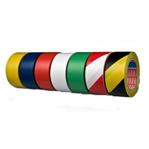 TESA® Fita de Sinalização TESAFLEX 60760 Amarela – Rolo de 33m x 50mm