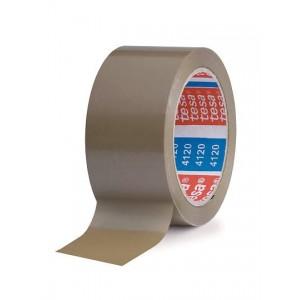 TESA® Fita Embalagem 4120-57171 PVC Castanho Uso Geral – Rolo 66m x 50mm