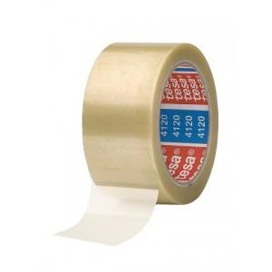 TESA® Fita Embalagem 4120-57171 PVC Transparente Uso Geral – Rolo 66m x 50mm