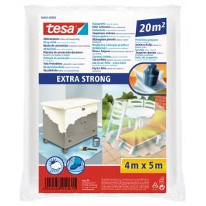 TESA® Plástico De Cubrición Extra Fuerte Transparente 56652