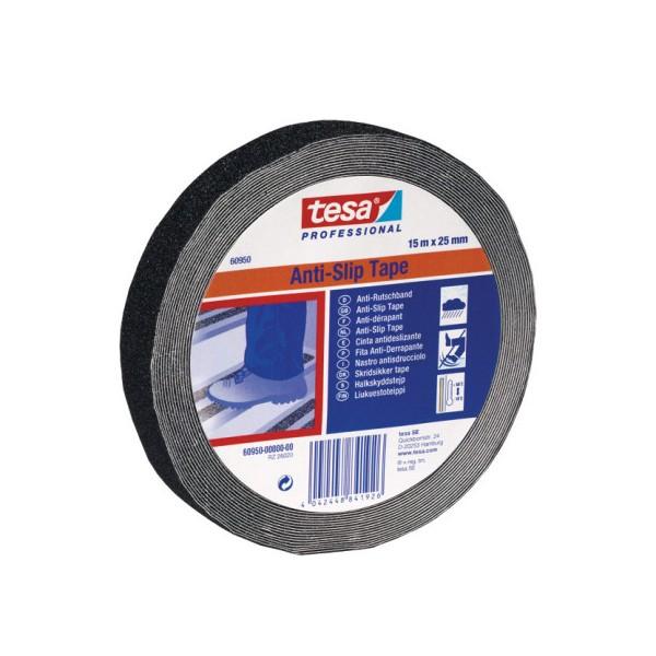 TESA® Cinta Adhesiva Antideslizante Negra 55589 - 60950