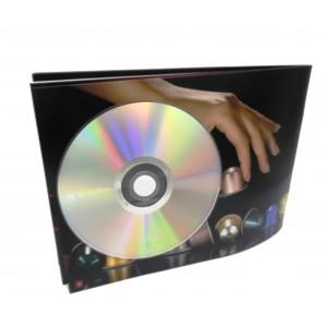 Círculos Adhesivos de Espuma de Polietileno, para Sujección de CD y DVD, Blanco
