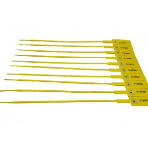 Flanges de Segurança Numeradas SOLSUS-GC3, Amarelo, Perímetro Fechado de 270mm