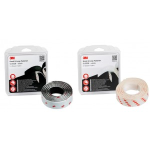 3M™ HOOK & LOOP™ Sistemas De Unión Desmontable SJ3520 – Caja Con 2 Rollos De 1,25m x 25mm