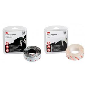 3M™ Hook & Loop™ Système d'Union Démontable SJ3520 – Pack de 2 Rouleaux de 1,25m x 25mm