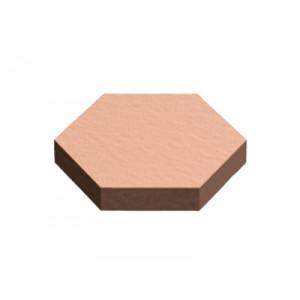3M™ Bumpon™ SJ5202 Marron Clair, côté 11mm x H. 1,60mm