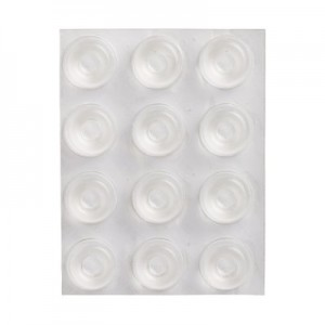 3M™ Bumpon™ SJ5309 Transparente 22.40mm Ø x 10.16mm Alt