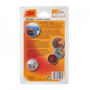 3M™ Bumpon™ SJ5302 Transparente 7.95mm Ø x 2.16mm Alt