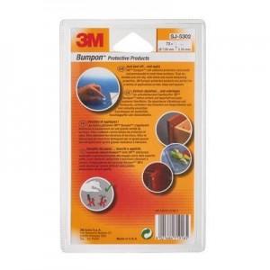 3M™ Bumpon™ SJ5302 Transparente 7.95mm Ø x 2.16mm Alt – Embalagem de 72 Unidades