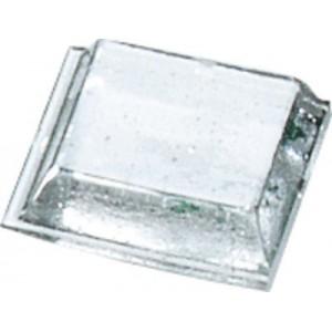 3M™ Bumpon™ SJ5308 Transparente 12.70mm x 12.70mm x 3.05mm Alt – Embalagem de 80 Unidades