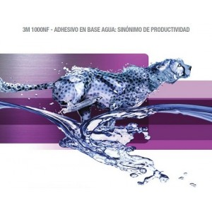 3M™ Adesivo com Base Água 1000NF Violeta - Lata De 3,78 L