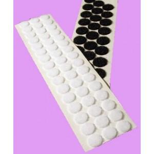 Círculos Troquelados De VELCRO® Adhesivo, 13mm Diámetro - Rollo de 4.700 Unidades