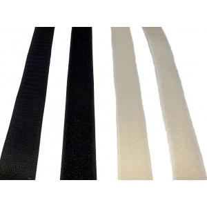 "Fita De Velcro Adesivo ""A"" -  Rolo De 25m x 20mm"