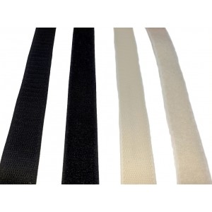 """Ruban VELCRO® Adhésif """"A"""" – Rouleau de 25m x 20mm"""