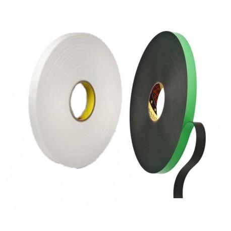 3M™ Cinta de Espuma de Doble Cara 9508 – Rollo de 66m x 19mm x 0.8mm