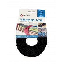 "Bridas De Velcro ""ONE WRAP"" Doble Macho-Hembra, HOOK&LOOP ""VEL-OW64501"" ""VEL-OW64500"""