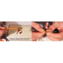 Cinta Adhesiva De Cobre Liso Con Adhesivo Conductor – Rollo De 33m X 19mm