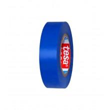 TESA® Cinta Aislante Homologada TESAFLEX 53948 Azul – Rollo de 10m x 19mm