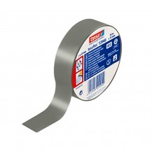 TESA® Ruban Isolant Homologué TESAFLEX 53988 Gris – Pack de 7 Rouleaux de 10m x 15mm