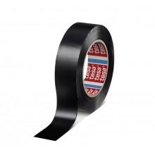 TESA® Cinta Aislante Homologada SPVC Profesional 53988 Negro Mate – Pack de 10 Rollos de 10m x 19mm