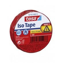 TESA® Cinta Aislante PVC 56192 Hasta 6000V Rojo