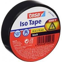 TESA® Cinta Aislante PVC 56190 Hasta 6000V Negro