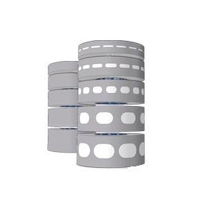 Pack Ruban Adésif Antidust 25mm – 2 Rouleaux (Aveugle et Perforé) de 6,5m x 25mm