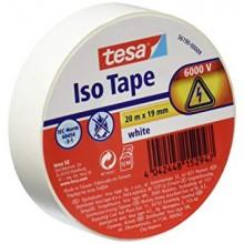 TESA® Cinta Aislante PVC 56190 Hasta 6000V Blanco