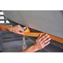 TESA® Precision Mask 4342 Naranja – Cinta Washi para Bordes de Pintura Limpios – Rollo de 50m x 25mm