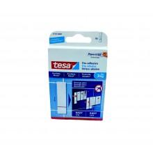 TESA® Tiras Adesivas Powerstrips 77761 – Caixa com 6 Tiras de 80mm