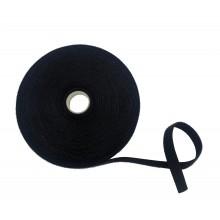 """Ruban VELCRO® Double """"ONE WRAP®"""", Mâle-Femelle, Hook&Loop, Noir – Rouleau de 25m x 16mm"""