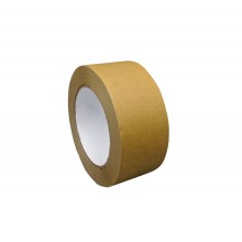 Adhesive Seal Ecological Kraft Paper, Brown Color - Roll Of 50m X 50mm