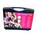3M™ Bumpon™ Set 017, Maletín Topes Protectores Adhesivos  Transparente, Negro y Marrón – Maletín de 726 Unidades