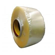 Fita Transparente para Fabricação de Alças Adesivas - Rolo 6.500m x 25mm