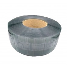 Perchas Adhesivas Transparentes Extrafuertes, 70mm X 112mm, Grosor 400 Micras - Rollo De 1.500 Perchas