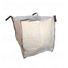 Saco Big Bag 1m3, Medidas 90cm x 90cm x 90cm - Blanco - Pack de 5 Unidades