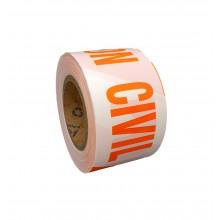 "Marking Tape ""PROTECCION CIVIL"" Gauge 200 - Roll of 200m x 100mm"