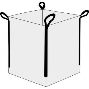 Saco Big Bag 1m3, Medidas 90cm x 90cm x 90cm