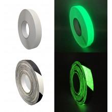 Cinta Adhesiva Antideslizante Fotoluminiscente – Rollo de 18,3m x 25mm