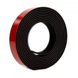 3M™ Dual Lock Système d'Union Amovible TB3870, 250/250 Noir