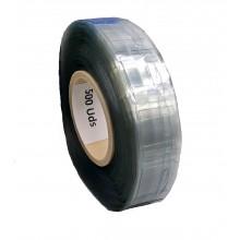 Cabides Adesivos Transparentes, 40mm X 32mm, Espessura 400 Microns - Rolo De 500 Ganchos